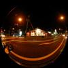 Lamppost/街灯(Fisheye Photo/魚眼写真)