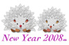 New Year Hedgehog/年賀ハリネズミ(Paint/ラクガキ)
