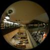 Escalator Space/エスカレーターの空間(Fisheye photo/魚眼写真)