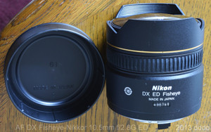 AF DX Fisheye-Nikkor 10.5mm f2.8G ED lens photo 6 made in Japan
