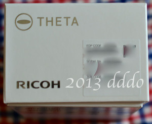 RICOH THETA / リコー・シータ開封写真集7