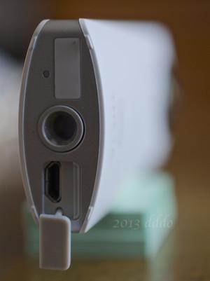 RICOH THETA / リコー・シータ、USB蓋