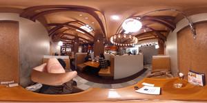 360°パノラマな伊丹市のイオンモール昆陽のピアサピド pia sapido 店内