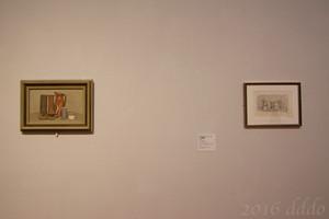 兵庫県立美術館 ジョルジョ・モランディ 縞模様の器