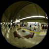 Ticket Gate/改札(Fisheye Photo/魚眼写真)