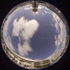 Sky and Cloud/空と雲(Fisheye Photo/魚眼写真)