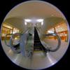 Escalator/エスカレーター(Fisheye Photo/魚眼写真)