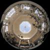 Dome roof/ドーム天井(Fisheye Photo/魚眼写真)